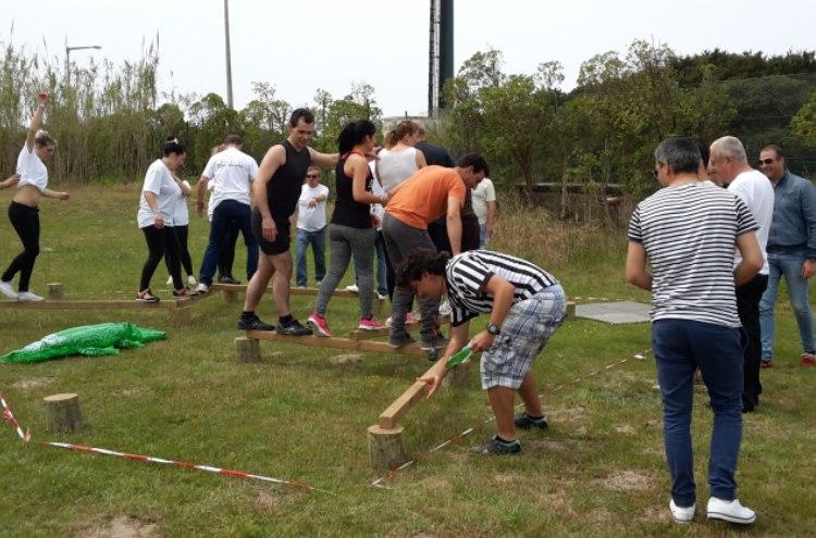 Teambuilding Equinócio - Jogos sem Fronteiras Aquarobot