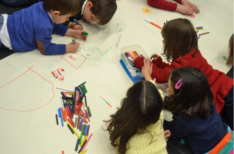 Responsabilidade Social Equinócio - Kids day in the office
