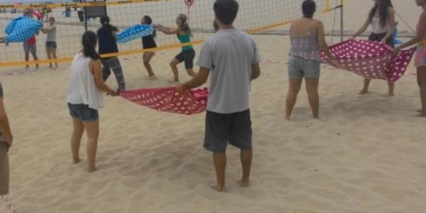 Teambuilding Equinócio - Beach Fun Hospital Amadora-Sintra