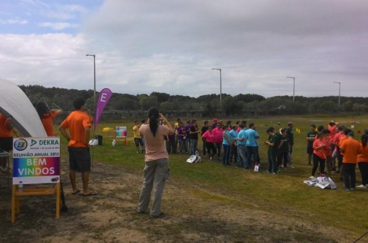Teambuilding Equinócio - Jogos sem Fronteiras Dekra